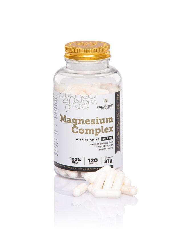 Magnézium B6 és D3 vitaminnal – kapszula